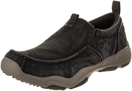 Skechers 64970 Bkcc - Mocasines para Hombre, Color Negro, Talla 44