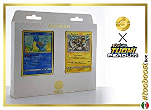 Lapras 56/214 Y Electivire 72/214 - #tooboost X Sol E & Luna 8 Tuoni Perduti Box de 10 Cartas Pokémon Italiano + 1 Goodie Pokémon