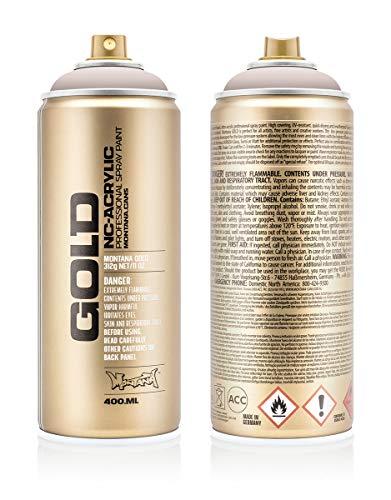 Preisvergleich Produktbild Montana Cans 285547 Montana Spray Dose Gold 400ml Gld400-8180-Brain