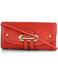 Mark & Keith Women Red Wallet(MBG 2044 RD)