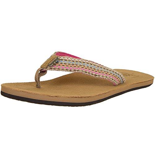 Reef Gypsylove Women Flip Flops Sandalen Sandals (37 1/2 EU, pink) Womens Reef