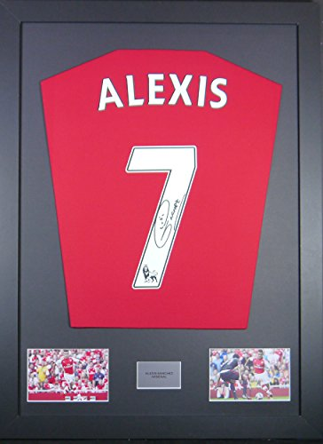 Alexis-Sanchez-Arsenal-Signed-Shirt-Framed-Display-with-COA