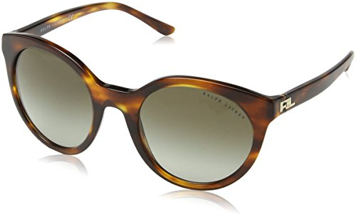 Ralph Lauren Unisex RL8138 Sonnenbrille, Braun (Havana 50078E), One size (Herstellergröße: 54)