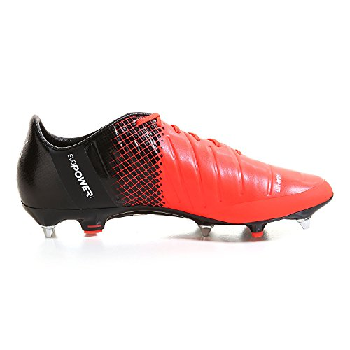 Puma Evopower 1.3 Mx Sg, Scarpe da Calcio Uomo red blast-puma white-puma black