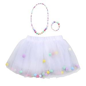 Amphia – Kinder Carnival Tutu – Mesh Rock – Tutu Rock – 3 Stücke Hohe Qualität Baby Mädchen Kinder Tutu Ballett Röcke…