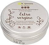 LA SAPONARIA - Crema Mani Extravergine - Emulsione nutriente e protettiva, ideale per la pelle secca e sensibile - Senza profumi - Con olio di oliva e aloe vera - 100% vegan - 60 ml