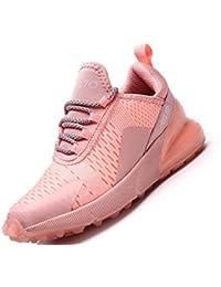SINOES Femme Homme Coussin d' Knit Trail Chaussures De Course 2019 Léger Chaussures De Marche Athletic Sport en Plein Jogging Gym Entraîneur Chaussures
