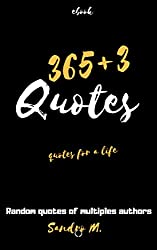 365+3 Quotes: Quotes for a life (English Edition)