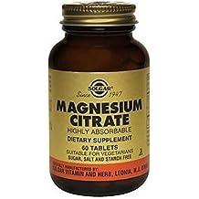 Citrato de Magnesio 60 comprimidos de Solgar