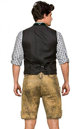 Michaelax-Fashion-Trade Stockerpoint - Herren Trachten Weste in verschiedenen Farben, Alonso, Größe:52, Farbe:Grau - 3