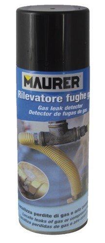 MAURER 12060366 Spray Detector Fugas De Gas 300ml, Azul