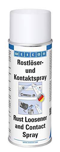 Preisvergleich Produktbild WEICON Rostlöser- & Kontaktspray 400ml löst festgerostete Bauteile z.B Auto Bremsen Batterieklemme Zündkerzen Felgen