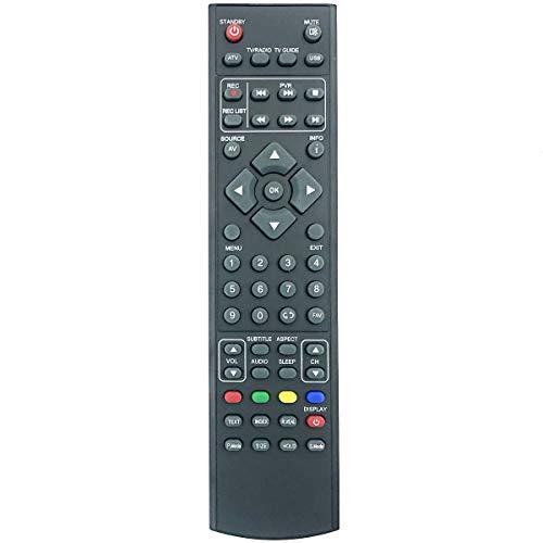 Telecomando di ricambio RMU/RMC/0006 RM18G28 per TV LED Blaupunkt W32/188G-GB-FTCU-UK/M4074JGB X32 56J-GB-HCUP-EU