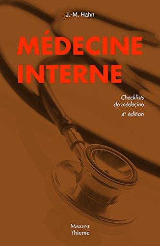 Médecine Interne, Checklist por Johannes-Martin Hahn