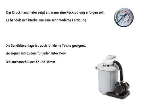 Intex Sandfilteranlage Speed Clean Comfort 75, miganeo grau - 7