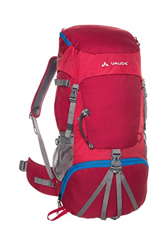VAUDE Kinder Rucksack Hidalgo, Indian Red, 7 x 35 x 26 cm, 50 Liter, 11947
