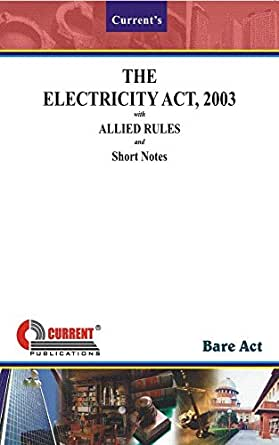 Indian electricity act 2003 free download