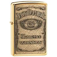 Jack Daniel's Brass Label Zippo, these are great Personalised Gifts for Men and Gifts for Her, for Birthday Gifts, for Christmas Gifts, for Fathers Day Gifts for Wedding Gifts and for Anniversary Gifts