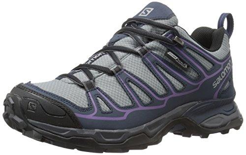 Salomon L38158500, Chaussures de Randonnée Femme Gris