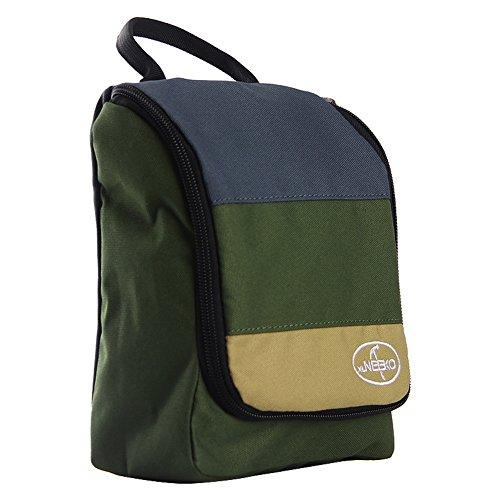 Sac de lavage de voyage/Sac à cosmétiques imperméable à l'eau portable entreprise/Voyages plein air sac de rangement-Army Green
