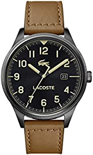Lacoste Continental, Analog Men's Watch, Brown - 201