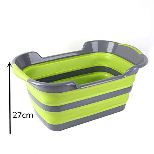 Tragbare Sicherheits-dusche (JSXCWSCPDusche Tragbare Silikonbadewannen Badzubehör Falten rutschfeste Badewanne Sicherheit Sicherheit Badewanne)
