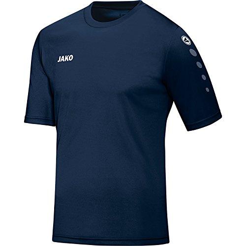 JAKO Herren Trikot Team KA Fußballtrikots, Navy, XL