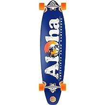 "Flying Wheels Aloha 40"" - Skateboard, color azul marino"