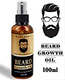 Grandeur Mooch And Beard Growth Oil For Men 100ml with Vitamin E