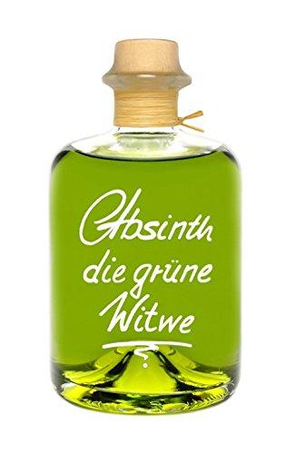 Absinth Die Grüne Witwe 0,5L Testurteil SEHR GUT(1,4) Maximal erlaubter Thujongehalt 35mg/L 55{6ef3bdcb167627b5b3081ccb53f38cc39e2803666572959d3e18f73277b2242a} Vol