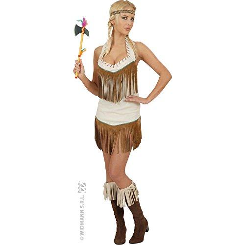 Unbekannt Aptafêtes-Kostüm Sexy Indianerin (Aptafetes Kostüm)