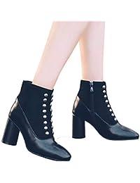 ed1e30afef2 Amazon.es  botas mujer charol - 40   Zapatos para mujer   Zapatos ...