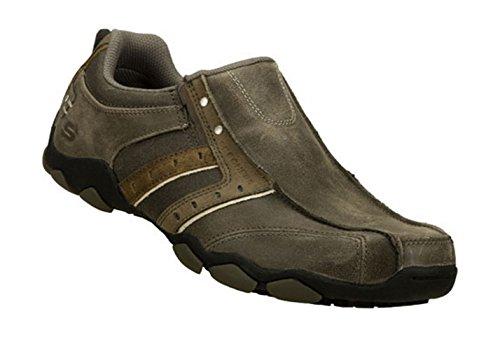 Skechers , Herren Sneaker Braun braun 39.5 Grau