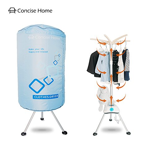 Concise home new asciuga biancheria elettrico portatile appendiabiti asciugatrice asciugabiancheria tondo