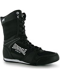 Lonsdale Contender Boxe Bottes - Noir Et Blanc Uk 5 - Eu 38 4xtOlrqy