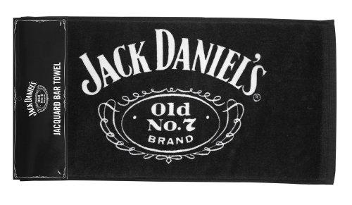 Jack Daniel\' s Licensed Barware unisex jack Daniels logo bar asciugamano standard