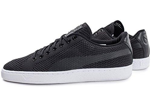 Coeur De Basket-ball Avec Des Chaussures Puma Noir sGwJEI