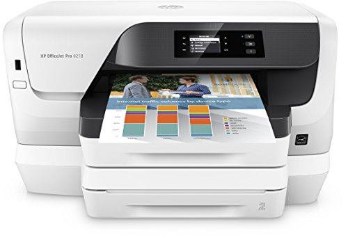 HP Officejet Pro 8218 Tintenstahldrucker (Drucker, HP Instant Ink, Duplex, WLAN, LAN, 500 Blatt Papierfach, HP ePrint, Apple Airprint, USB, 2400 x 1200 dpi) weiß