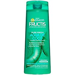 Garnier Fructis Champú Pure Fresh Agua de Coco - 360 ml - [pack de 3]
