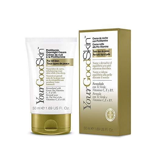 YourGoodSkin Crema Viso Notte Con Pro-Vitamina Tutti I Tipi Di Pelle 50 ml -