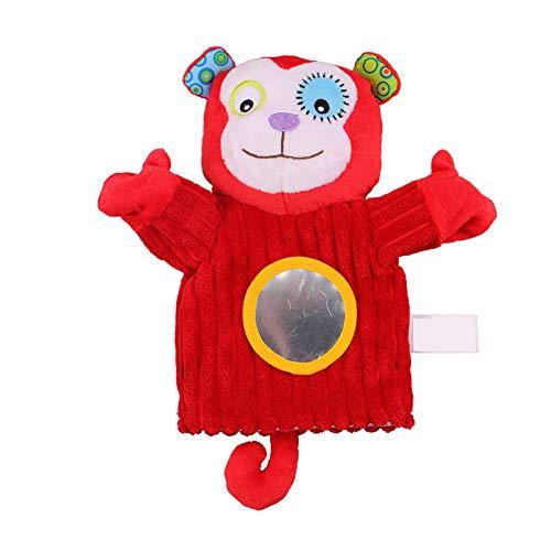 Beito Schöne Kinder-Handpuppen Karikatur-Tier Hand Plüsch Educational Storytelling Spiel Prop (AFFE) (Affe Handpuppe Große Augen)