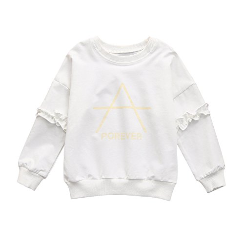Longues Manteau Sweat-Shirt Binggong, Haut Pull-Over Bébé Fille Top Spot  Plus 3f093e34da50