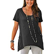 6f27760e2c7028 Versandhausware Sheego T-Shirt Longshirt Schwarz mit Nieten 820879