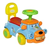#3: GoodLuck Baybee Baby Boy's and Girl's Ride on Push Car with Music Toy (Blue, 1-2 Years)