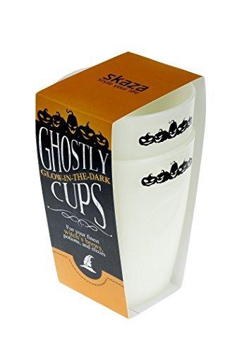 Unzerbrechlich, frei von BPA und Melamin Tassen, Gläser, Tumbler, Wärme und Freeze Safe Tassen Glow in the dark (Tassen Glow In Dark The)