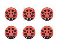 Ladybug Bag Clips Set Of 6