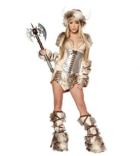 Kostüm, Sexy Viking Kleid Halloween Lingerie (Halloween Viking)
