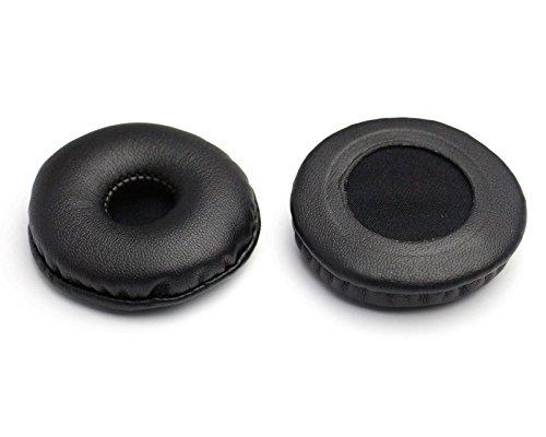 Warrah muti-model Elastic Kopfhörer Schaumstoff Schwamm und PU Leder, Schwarz New Ersatz Ohr Pads Kissen Repair Kit Teile Für Universal Durchmesser 55MM - 2