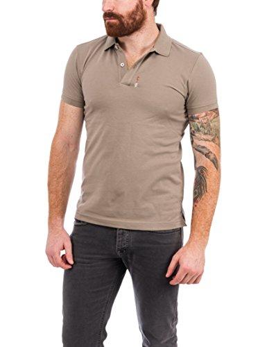 S.HT Herren Poloshirt Gildo Marrone (Mud)