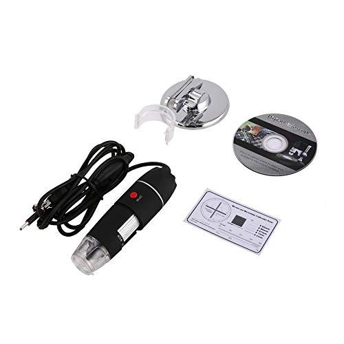 8 LED-Digitalmikroskop 3 in 1 USB-Endoskopkamera Microscopio 1600X Stereo Elektronische Lupe Plug & Play